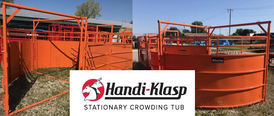 Handi-Klasp Stationary Crowding Tub