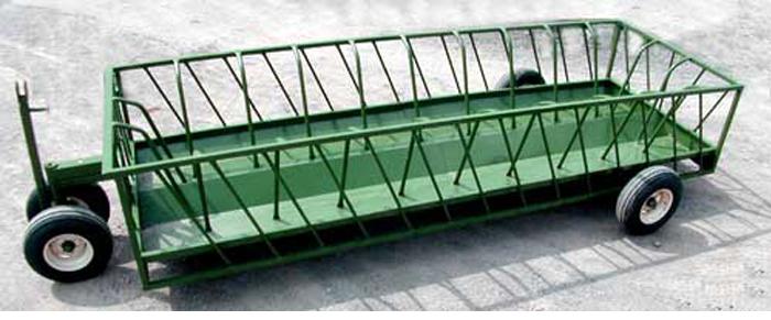 Round Bale Feeder Wagons